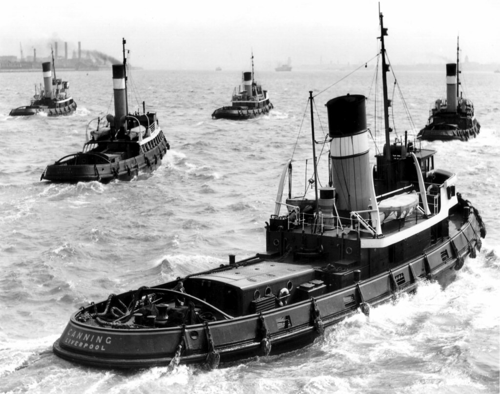 Alexandra Towing Ltd tugs | Alexander Towing tugs head out o