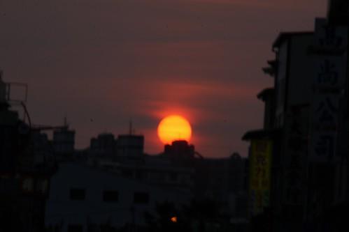 sunset sun sunrise thinkinginthefuture