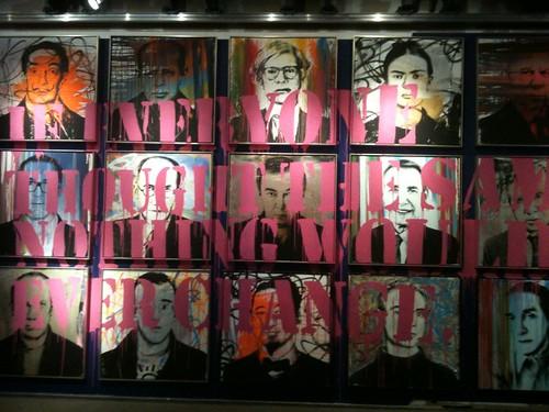 Mr. Brainwash wallscape | by michaelmayes