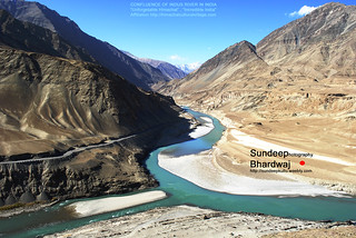 13-10-08 217 CONFLUENCE OF INDUS RIVER mJ | by SDB Fine Art Travel of 2 Decades to 555+ Places Ph