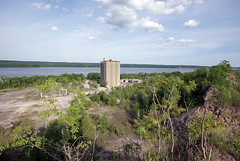 cement factory from a cliff by nerradk