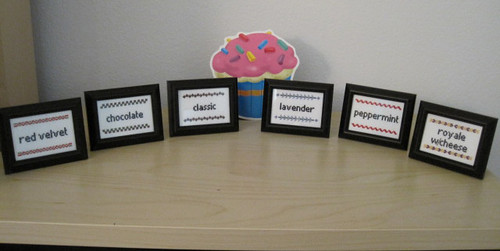 Cupcake signs | by ponyinarope