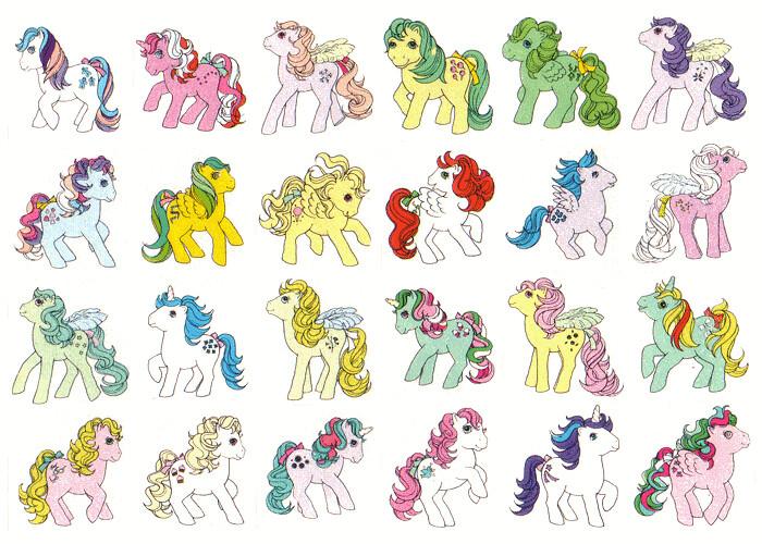My Little Pony Sticker Book G1 - Part 5   Flutter ponies