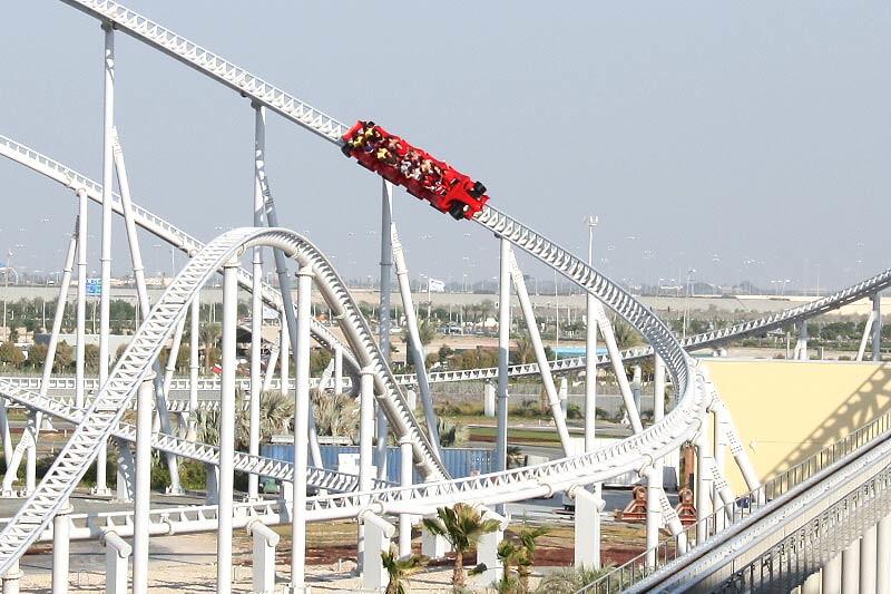 Formula Rossa | Ferrari World Abu Dhabi www yasisland ae/en