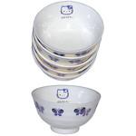 Hello Kitty Purple Butterfly Bowls