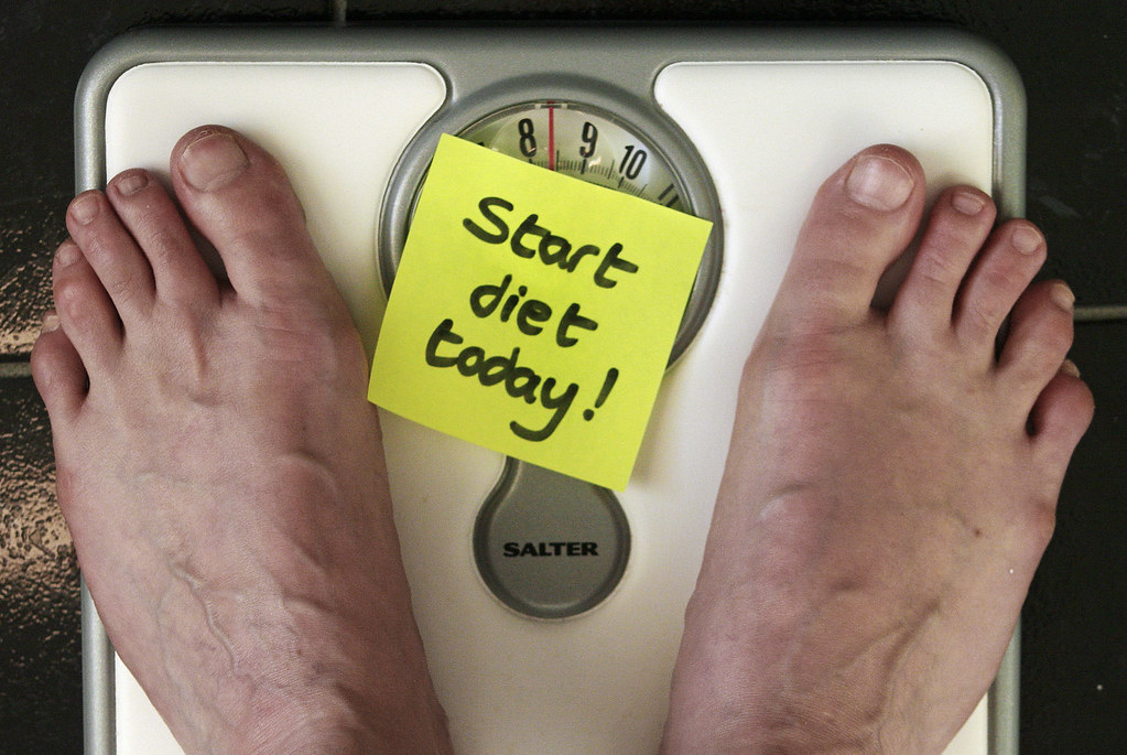 Start diet today | Time to lose weight. Picture is free for … | Flickr