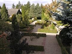 Kirkegården set fra nord2 - tårnfoto