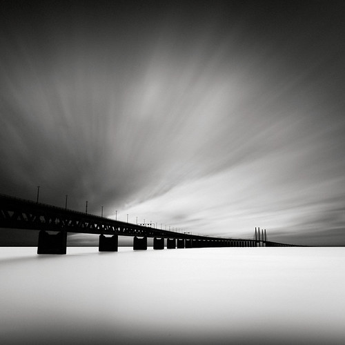 longexposure bridge water denmark sweden bro öresund öresundsbron ndfilter nd110 öresundbridge hoyand4 bwnd110
