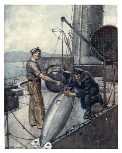 025- Un torpedo de 18 pulgadas-The Royal Navy (1907)- Norman L. Wilkinson   by ayacata7
