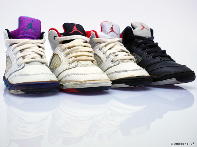 958f406ea7c Sunshining7 - Nike Air Jordan V (5) 1990 - Baby Jordan Set… | Flickr