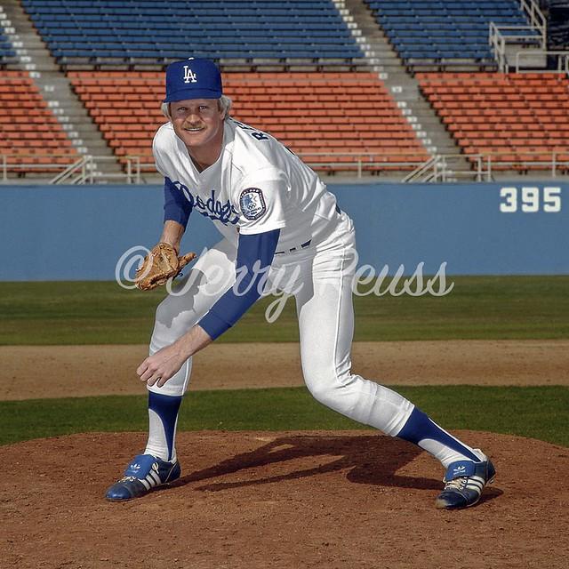 Jerry Reuss 1984 Dodgers