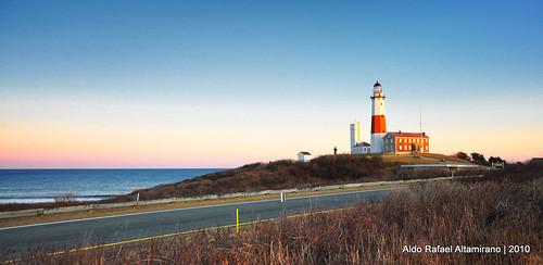 ocean blue sunset sea sky lighthouse newyork water digital us nikon north shore montauk d90 montauklighthouse nikond90 aldorafaelaltamirano rafaelaltamirano aldoraltamirano