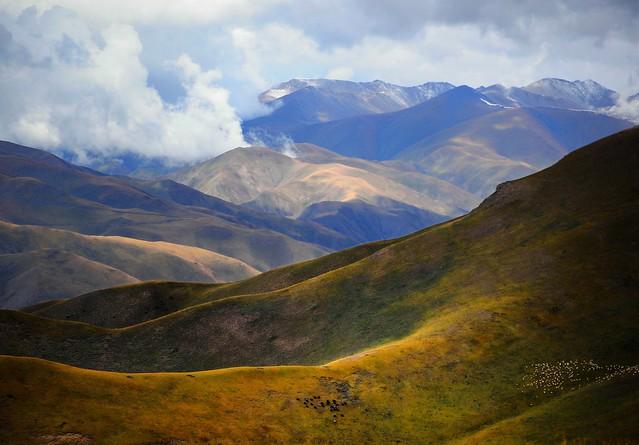 The Tibetan Plateau (བོད་མཐོ་སྒང་ bö togang) Landscape