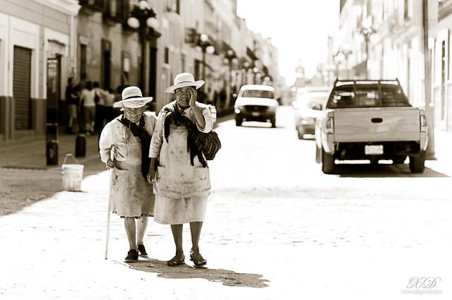 A walk in Puebla, Mexico