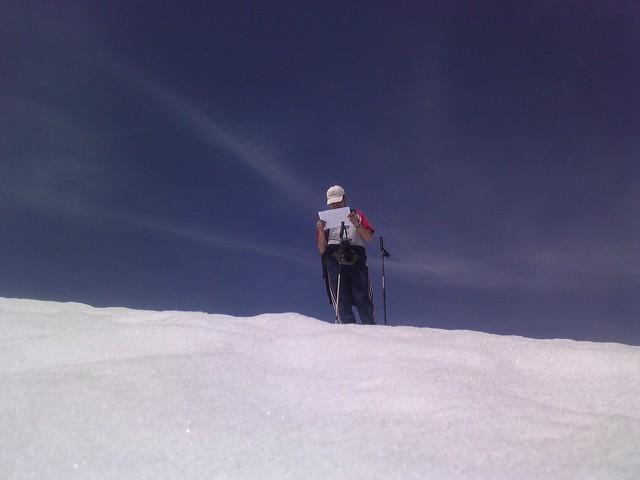 perdido en la montaña......