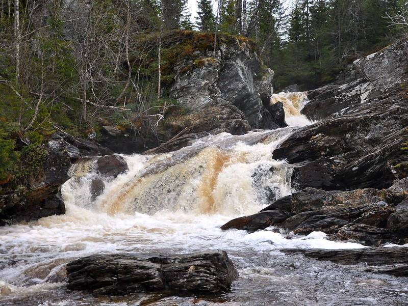 Waterfall in upper Neverdalen