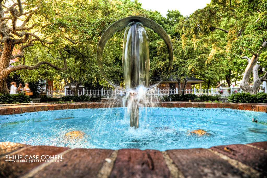 Prescott Park Fountain by Philip Case Cohen