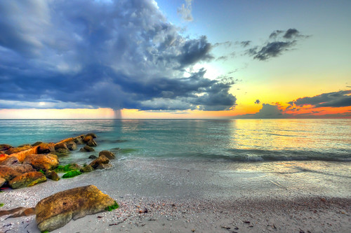 sunset usa treasureisland florida hdr nikond90