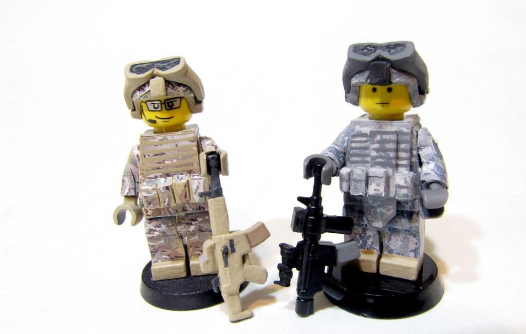 Custom Military Minifigs | Flickr