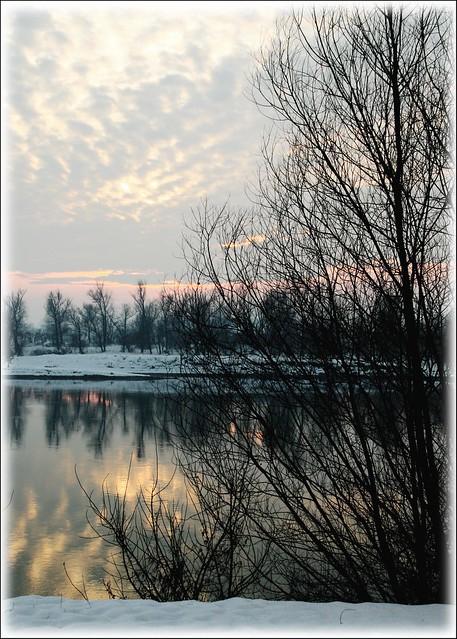 Inverno sul Po