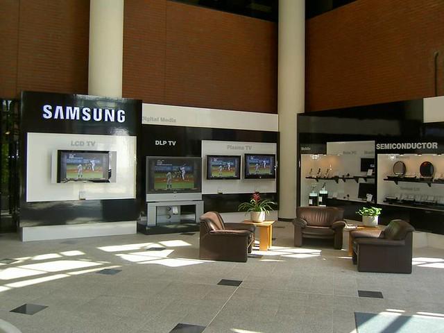 Custom Interior Samsung Electronics Lobby