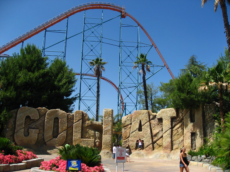 Six Flags Magic Mountain - Goliath