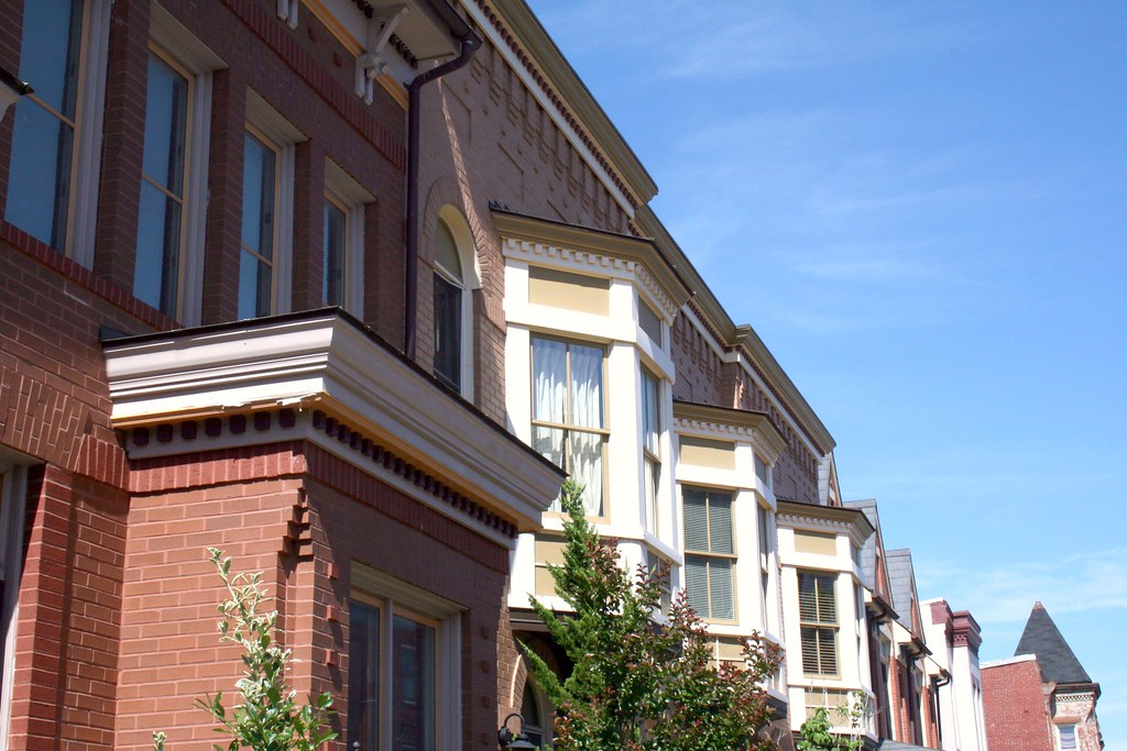 Historic Infill | New houses on the 500 block of U St NW ...