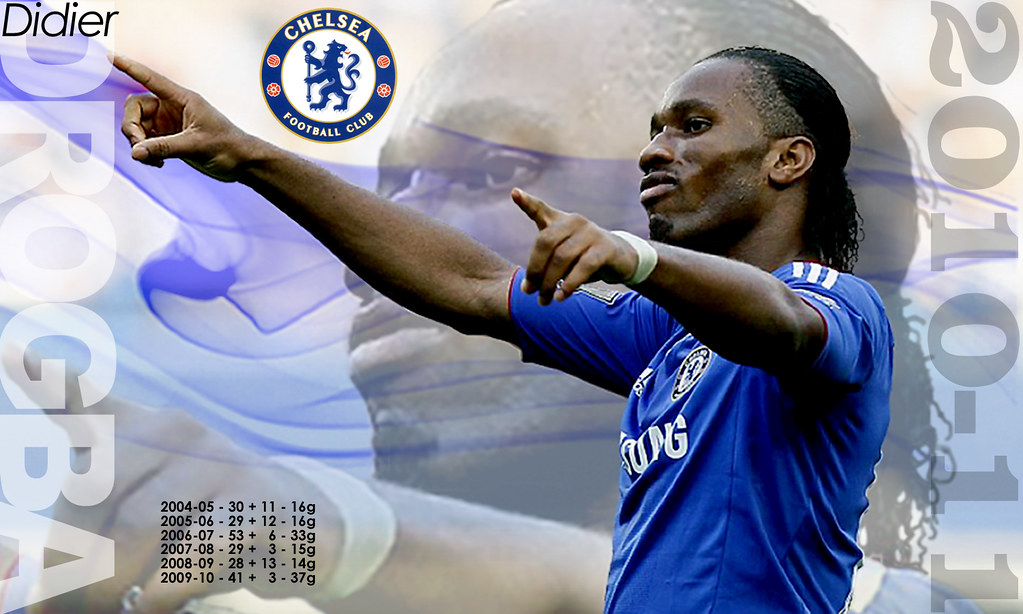 Didier Drogba - Chelsea FC 2010-11 | The_Old_Grey_Wolf | Flickr