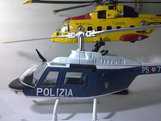 Agusta EH101 & Bell Jet Ranger 206