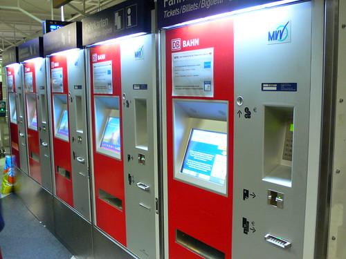 Ticket Machines on the S-Bahn   by heatheronhertravels