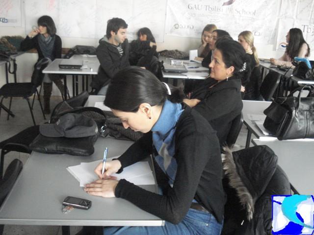 PR School - მაია