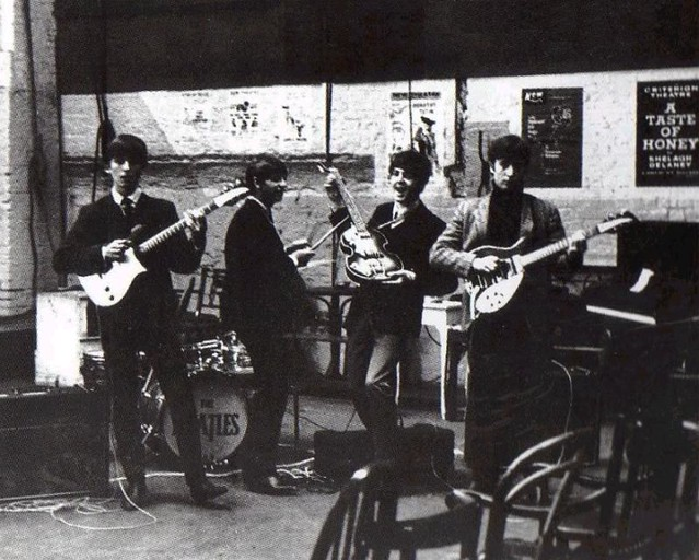 The Beatles Rehearsing at the Donmar,12 October 1963