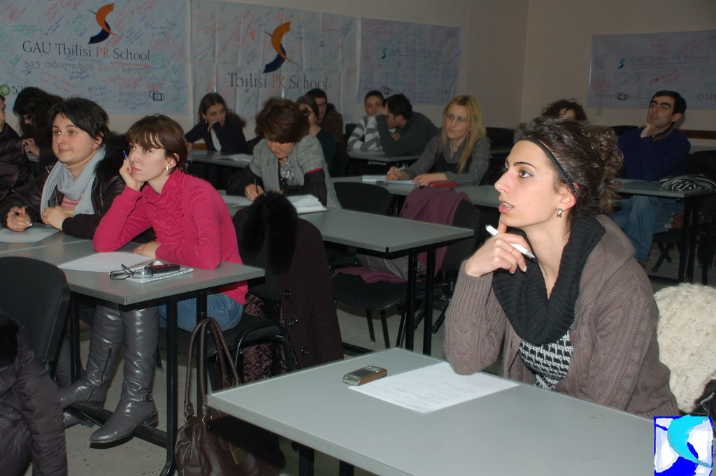 PR School - ოთარ ქირიას ღია ლექცია – 20.01.2010