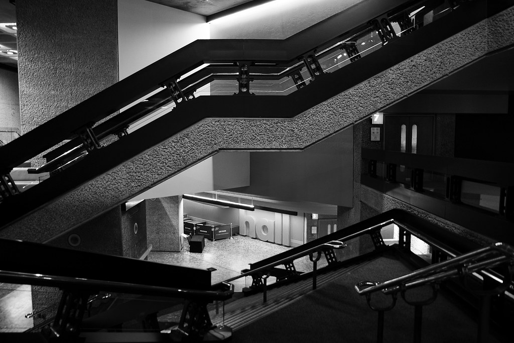 Barbican Stairs 5 by Mike G Photos