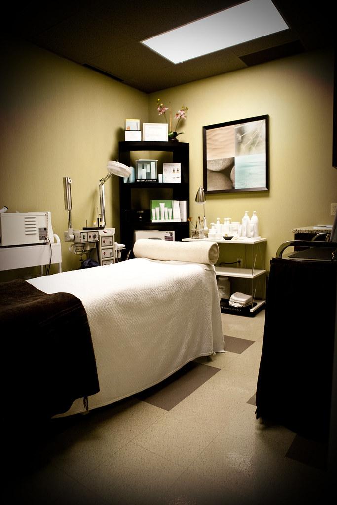 Medical spa room design