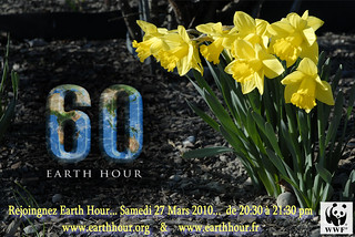 Earth Hour 2010 aux couleurs du Printemps