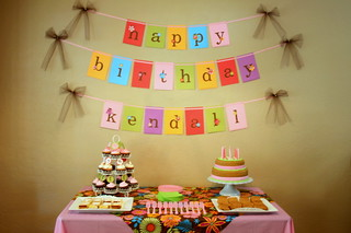 Birthday Sweets Table | by Bunches and Bits {Karina}