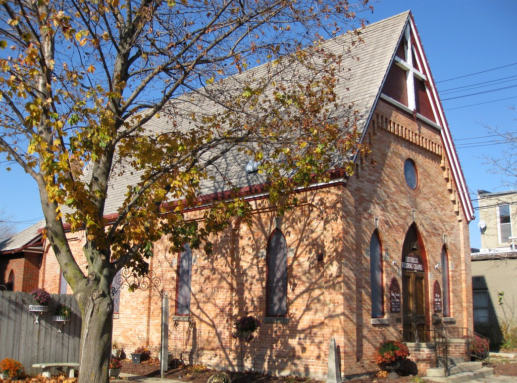 Historical Wedding Chapel This Chapel In Howell Michigan