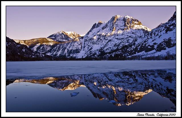 Reflection Sierra Nevada