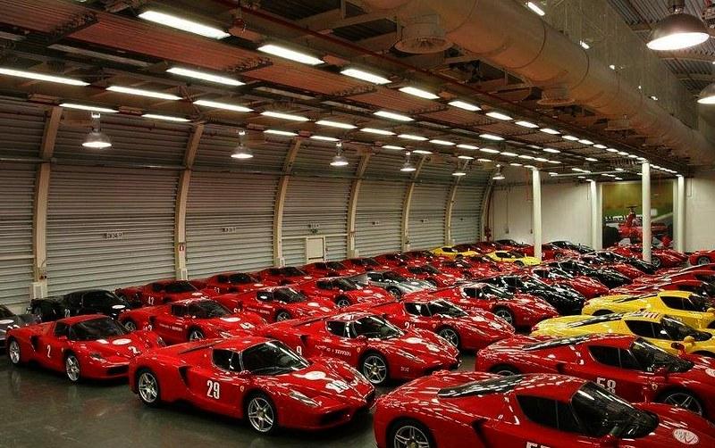 Old Ferrari Enzo Used Car Dealer In Italy 01 Flickr