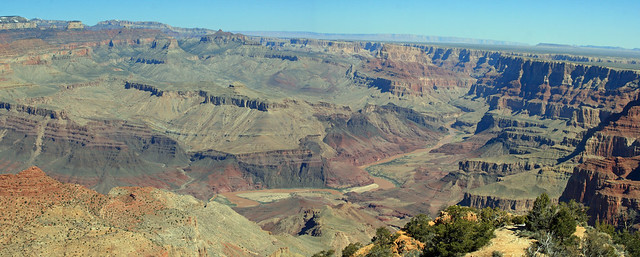 Stitched shot of the Grand Canyon from near Desert View (02)