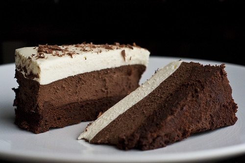 Triple Chocolate Mousse Cake | by jshj