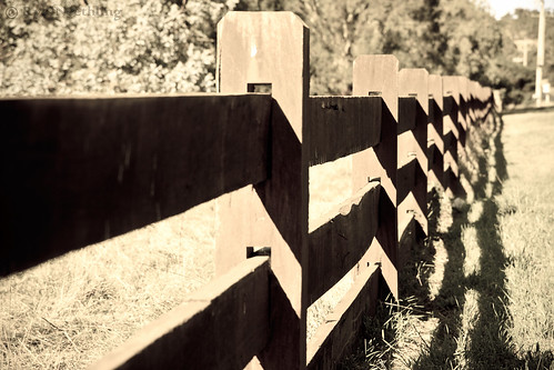 Fence in Gisborne South - Antique Light version | by Ryk Neethling