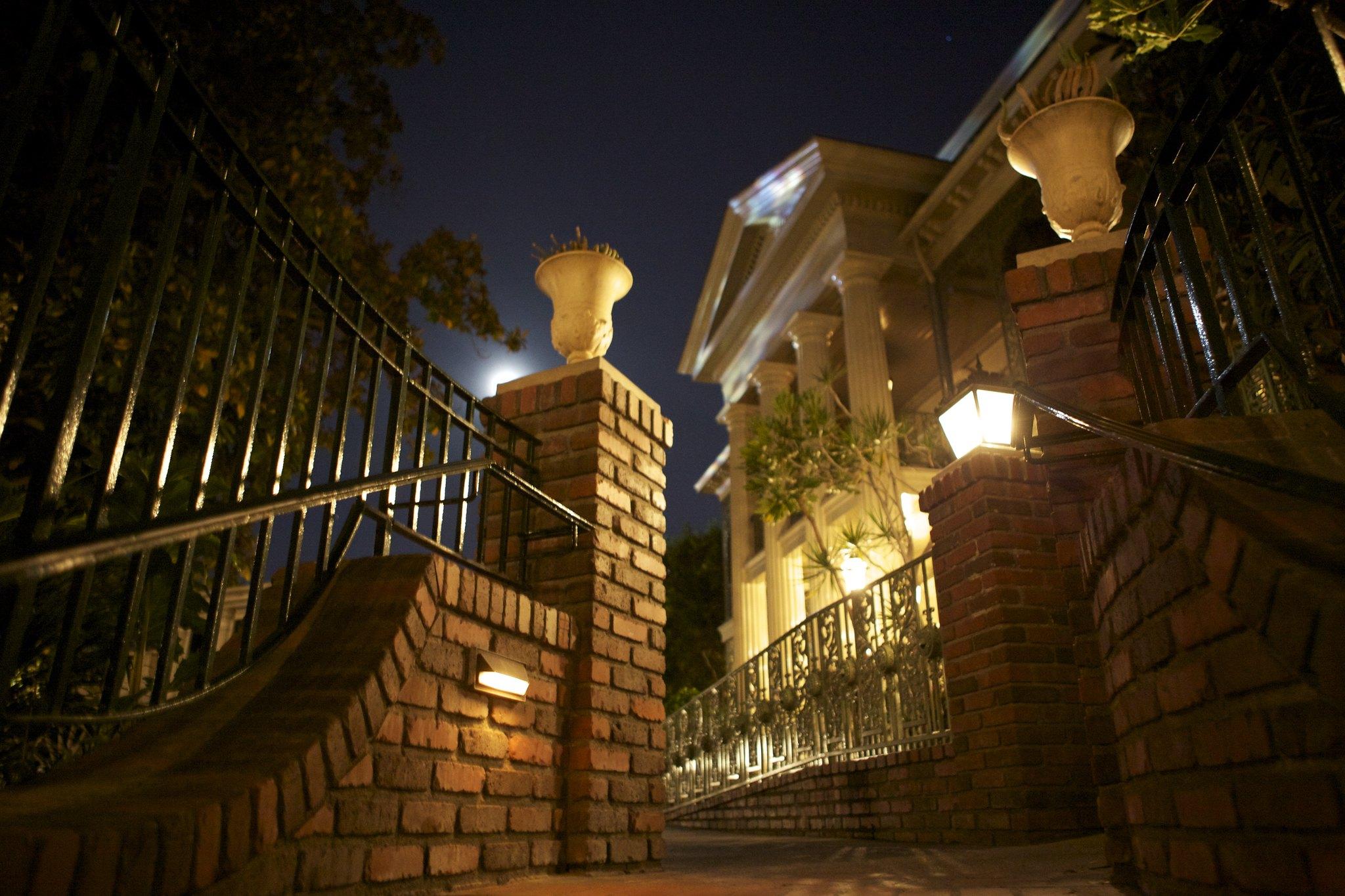 Haunted Mansion Moonlit