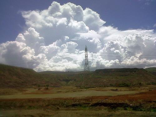 sky cloud nature navimumbai kharghar