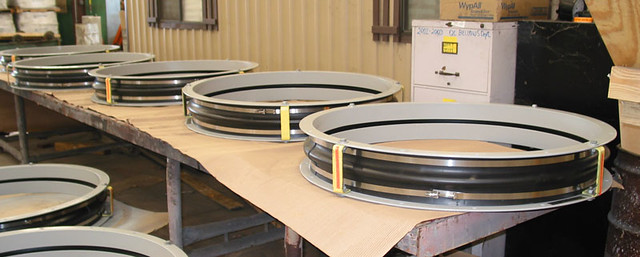 "42"" I.D Rubber Expansion Joints for a Power Plant in Texas"