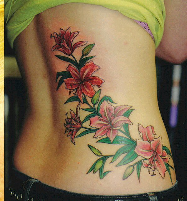 Flame Tattoo On Lotus Flower Tattoos For Girls Picture Gal Flickr