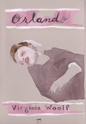 "Jennie Ottinger ""Orlando (book cover)"""