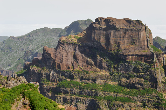 Pico do Arieiro - You can see the volcanic evidence here.jpg