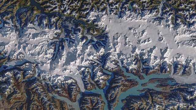 sothern patagonia icefield